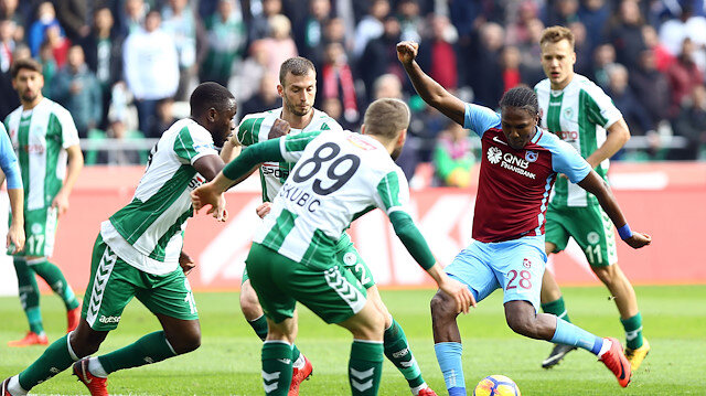 Trabzonspor Konyaspor canlı skor