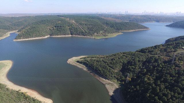 İstanbul'daki barajların doluluk oranı yüzde 61,49 seviyesine yükseldi.