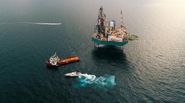 Türkiye'nin ikinci sondaj gemisi yola çıkıyor.