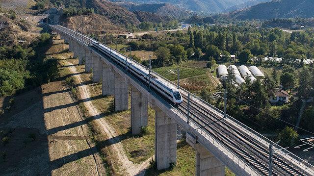 YHT'lerle geçen yıl 7,2 milyon yolcu taşındı.