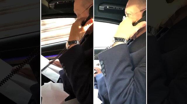 Erdoğan araç telefonundan Aylini aradı: Ya bu Oflular bir alem ya
