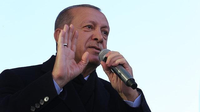 Türkiye Cumhurbaşkanı Recep Tayyip Erdoğan Üsküdar'da konuştu.