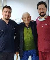 100 yaşında ölümcül ritimden kurtuldu