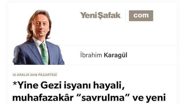 """Yine Gezi isyanı hayali, muhafazakâr """"savrulma"""" ve yeni """"çatı"""" arayışları..  22 Mayıs'ta kimler ABD'ye gitti?  Bu sefer kimler nerede dolaşıyor?"""