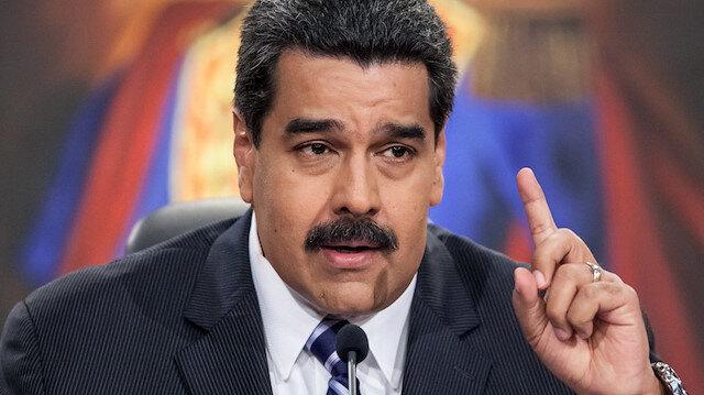 Maduro: ABD Venezuela'da darbe yapmak istiyor