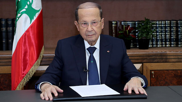 Lebanon's Aoun says he is intervening in stalled effort to form government