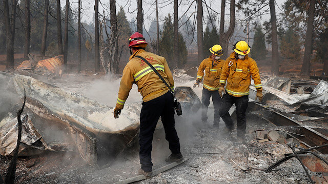 Number of people believed missing in California wildfire drops to three