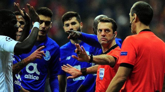 Galatasaray-Porto maçında olay karar
