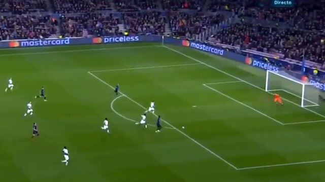 Dembele'den Tottenham'a muhteşem gol