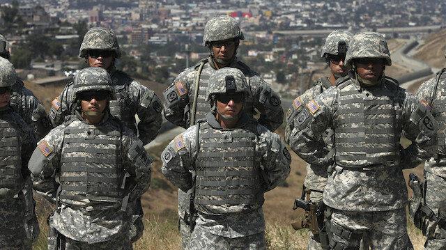 ABD Meksika sınırındaki birliklerini geri çekiyor