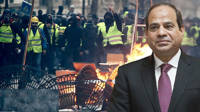 Sisi bans sales of yellow vests as Egyptian revolution anniversary approaches