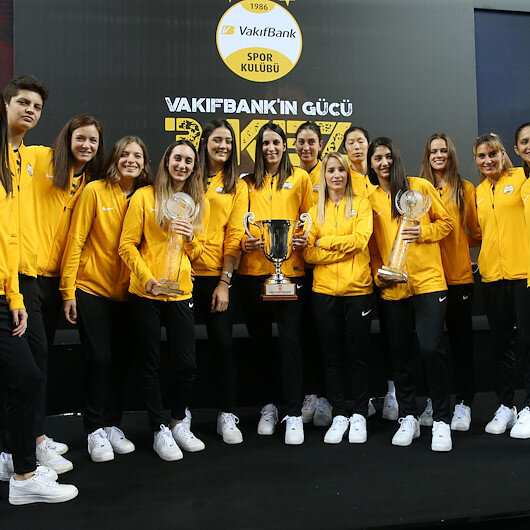 Turkey's Vakifbank, a 'legend' in women volleyball