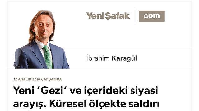 * Yeni 'Gezi' ve içerideki siyasi arayış. Küresel ölçekte saldırı başlatıyorlar. * O iki 'Veliaht' bu işin neresinde ve Türkiye'deki ortakları kimler? * Medyada 'örtülü' yazılara dikkat!