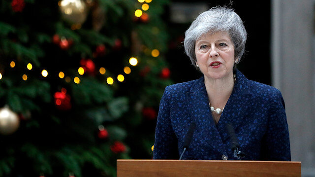 UK's May: I will fight confidence vote with 'everything I have got'