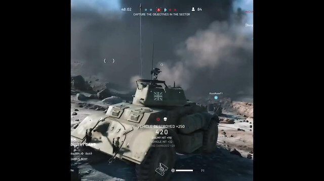 Bilgisayar oyununda tankı uçaksavar gibi kullanmak