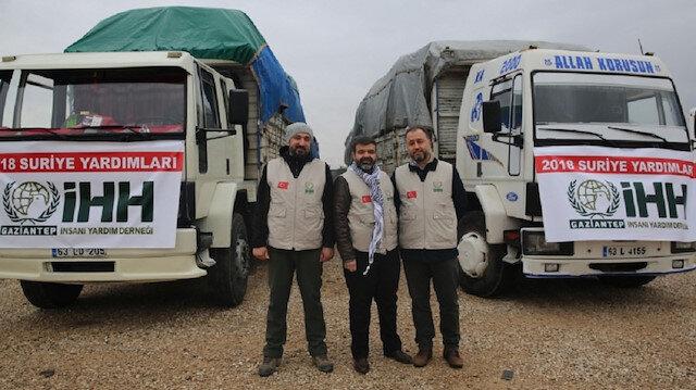 """""""الإغاثة التركية"""" تواصل أعمالها الإنسانية في سوريا"""