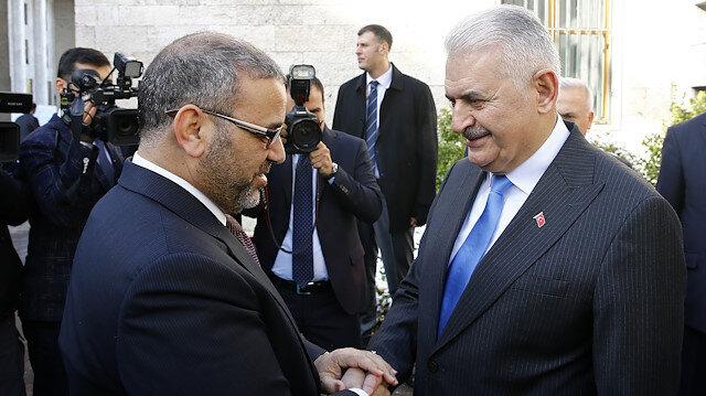 يلدريم يستقبل رئيس مجلس الدولة الليبي