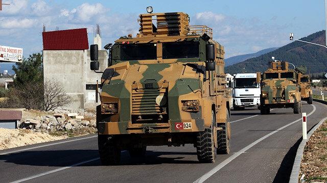 تركيا تواصل إرسال تعزيزات عسكرية جديدة إلى حدودها مع سوريا