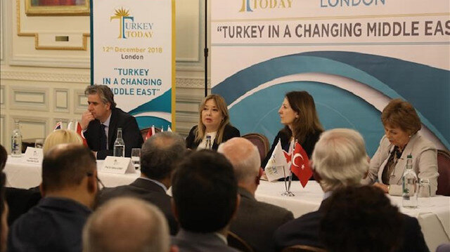 Foreign policy panel on Turkey held in London