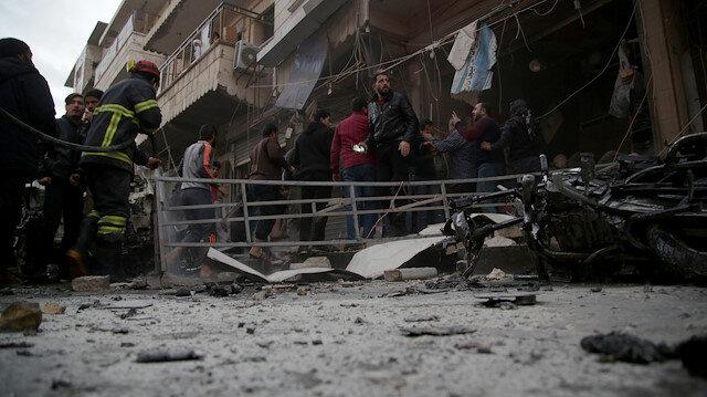 مقتل مدني بتفجيرين في