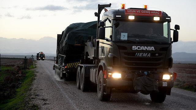تعزيزات عسكرية تركية جديدة إلى الحدود مع سوريا
