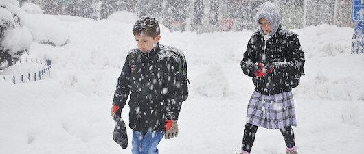 Ankara'da kar tatili