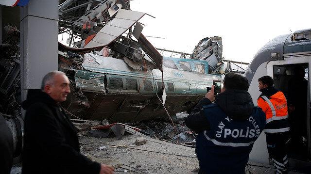 وزير النقل التركي يعلن مصرع 9 في حادث القطار بأنقرة