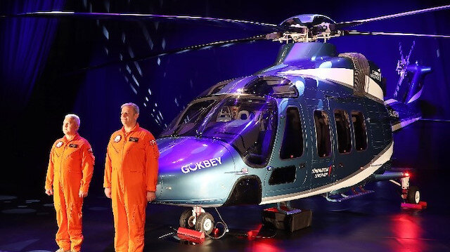 Gökbey helicopter