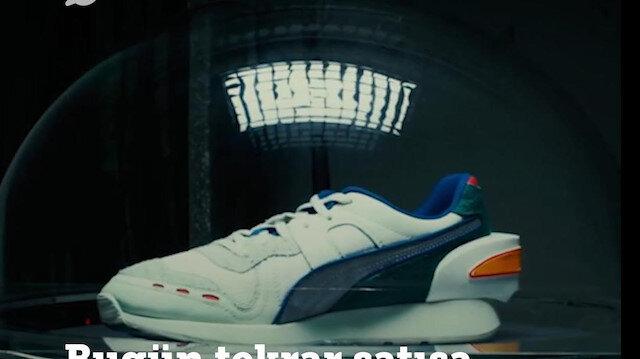 Bilgisayarlı ayakkabı geri döndü