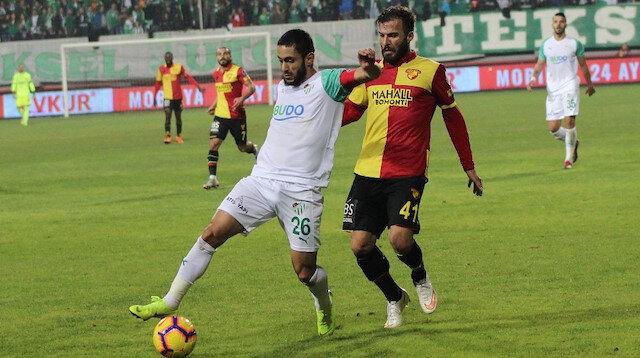 Göztepe-Bursaspor: 0-0