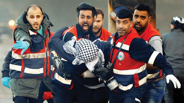 Batı Şeria'da işgal terörü