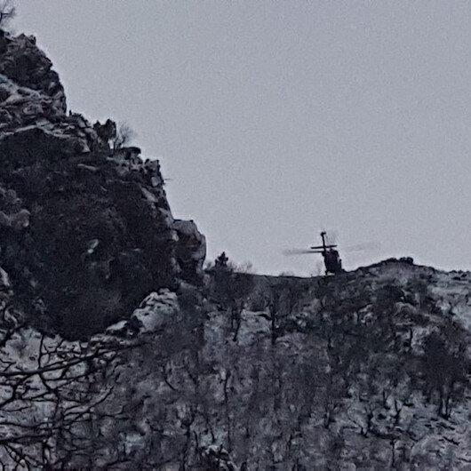 Mağarada sıkıştırılan PKK'lı teröristlerden 2'si öldürüldü