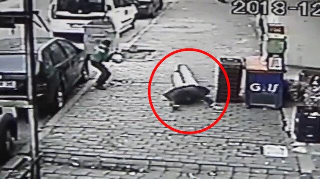 10 yaşındaki çocuğun gözü önünde cinayet anı