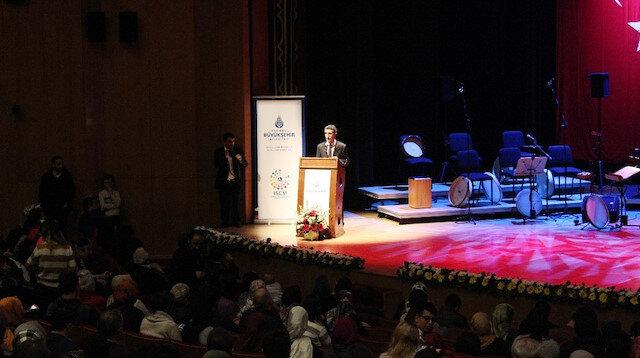 İstanbul'da Şeb-i Arus programı düzenlendi