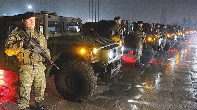 Kosova ordusuna kavuştu