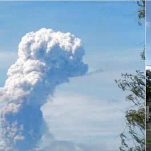 شاهد: لحظة ثوران بركان جبل سوبوتان في إندونيسيا