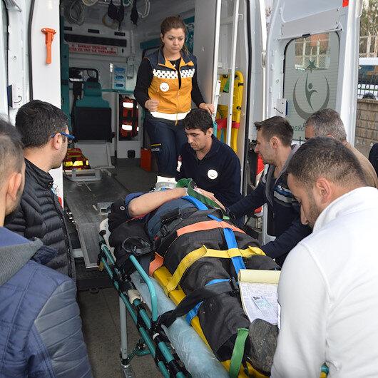 Siirt'te trafik kazaları: 9 yaralı