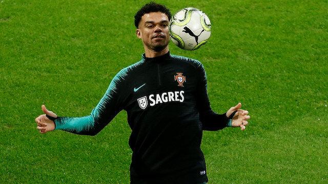 Beşiktaş'tan ayrıldı denilen Pepe Vodafone Park'ta