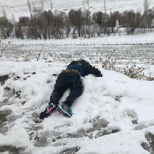 Jandarma ekiplerince donmuş halde bulundu