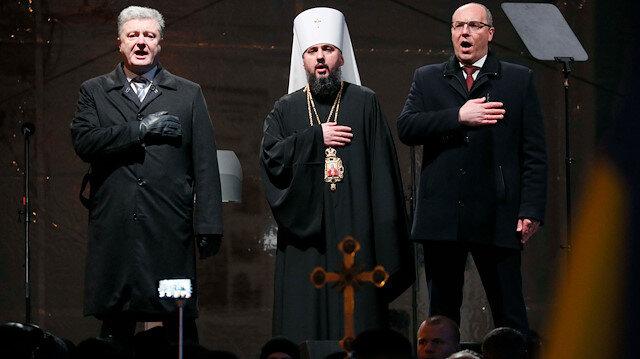 Poroşenko: Kiliseye müdahale etmediği için Erdoğan'a minnettarım