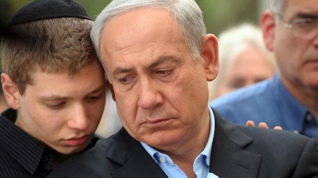 Netanyahu'nun oğlu Facebook hesabını askıya aldı