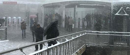 İstanbul'a kar uyarısı