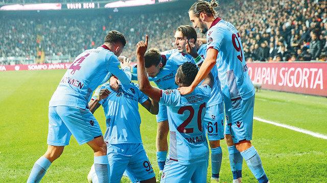 Trabzonspor zirve yolunda
