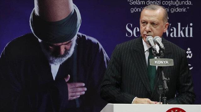 Erdoğan marks 745th anniversary of Mevlana Rumi's death