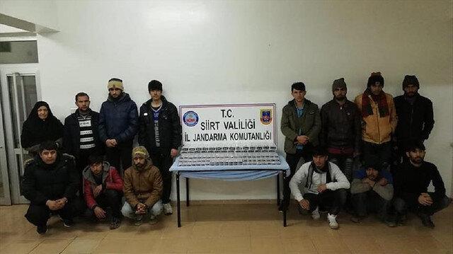 At least 60 irregular migrants held across Turkey