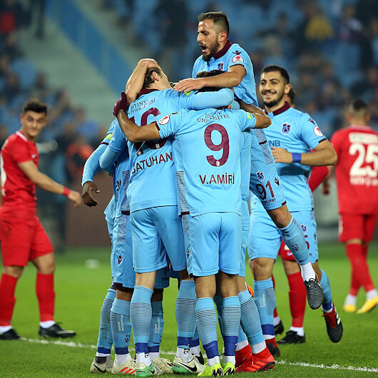 Trabzonspor genç yetenekleriyle son 16'ya kaldı