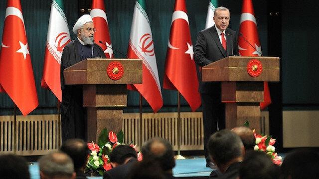 President of Iran Hassan Rouhani and Turkish President Recep Tayyip Erdoğan