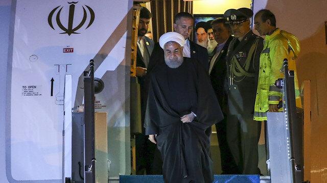 الرئيس الإيراني يصل أنقرة في زيارة رسمية