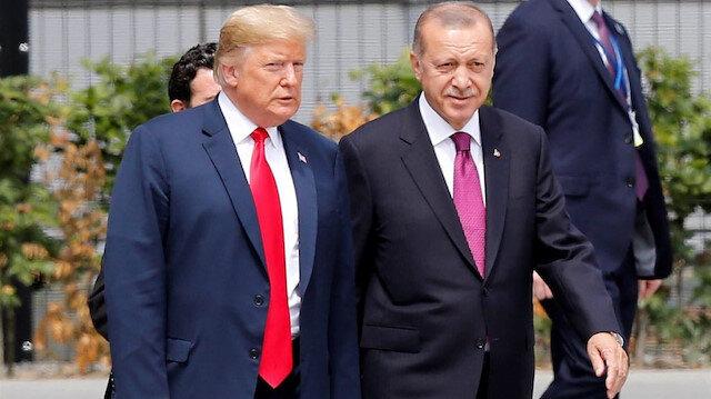 ABD Başkanı Donald Trump ile Cumhurbaşkanı Recep Tayyip Erdoğan