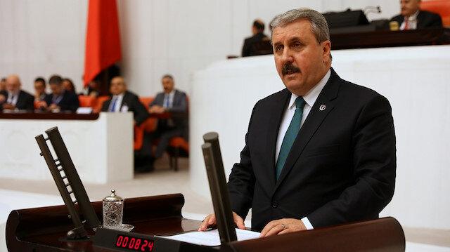 Destici: PKK'nın siyasi uzantılarına hazineden para vermek haramdır
